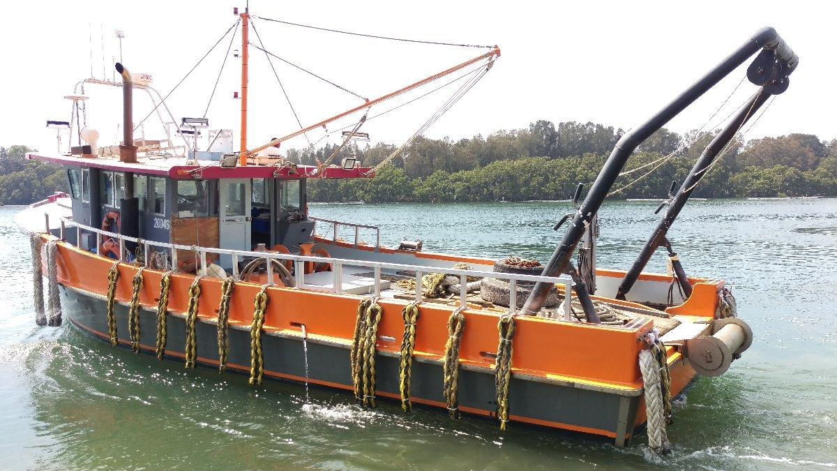Custom Workboat fishing commercial charter survey