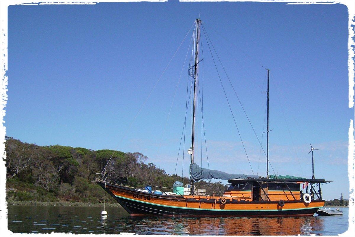 Carvel Timber Yacht Phinisi Prau Ketch