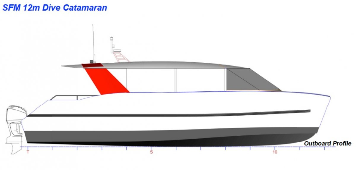 12m High Speed Catamaran Passenger Boat