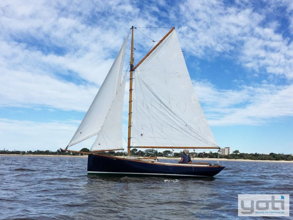 Chesapeake Inheritance Class Centreboard Gaff Cutter 22