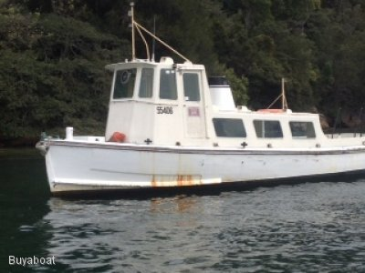 Custom Timber Workboat 2 D Survey