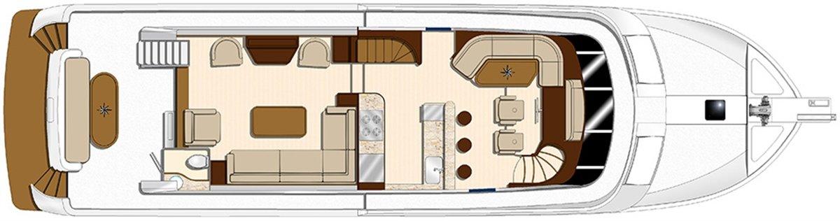 Hampton Endurance 648 LRC Motor Yacht
