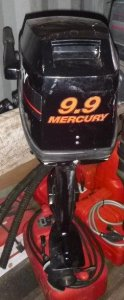 PREOWNED 9.9HP MERCURY OUTBOARD