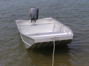 Aquamaster 2.4 Flat Bottom Punt (HULL ONLY)