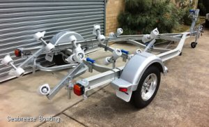 Boat Trailers from 3.2m boats to 8.0m Boats