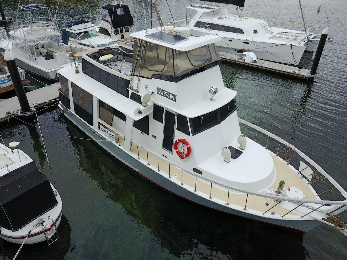 46 Timber Flybridge Cruiser