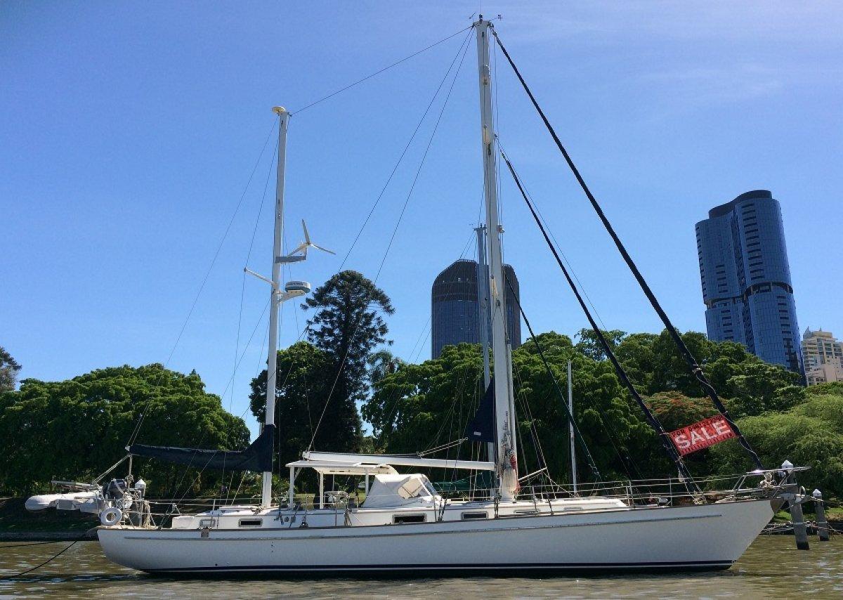 Salthouse Brothers NZ - Venus 46 Blue Water Cruiser
