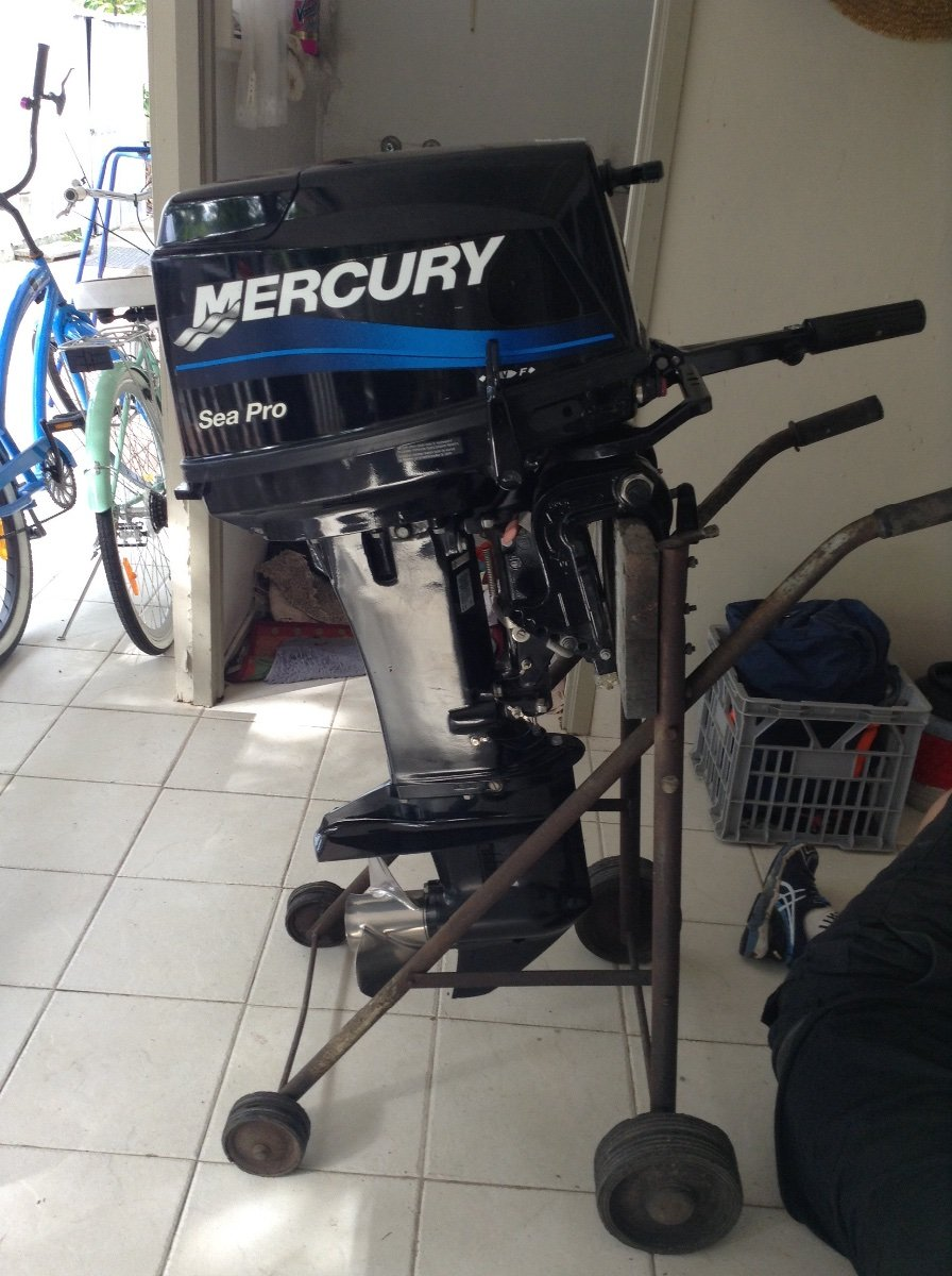 25 hp Mercury Seapro long Shaft 2015