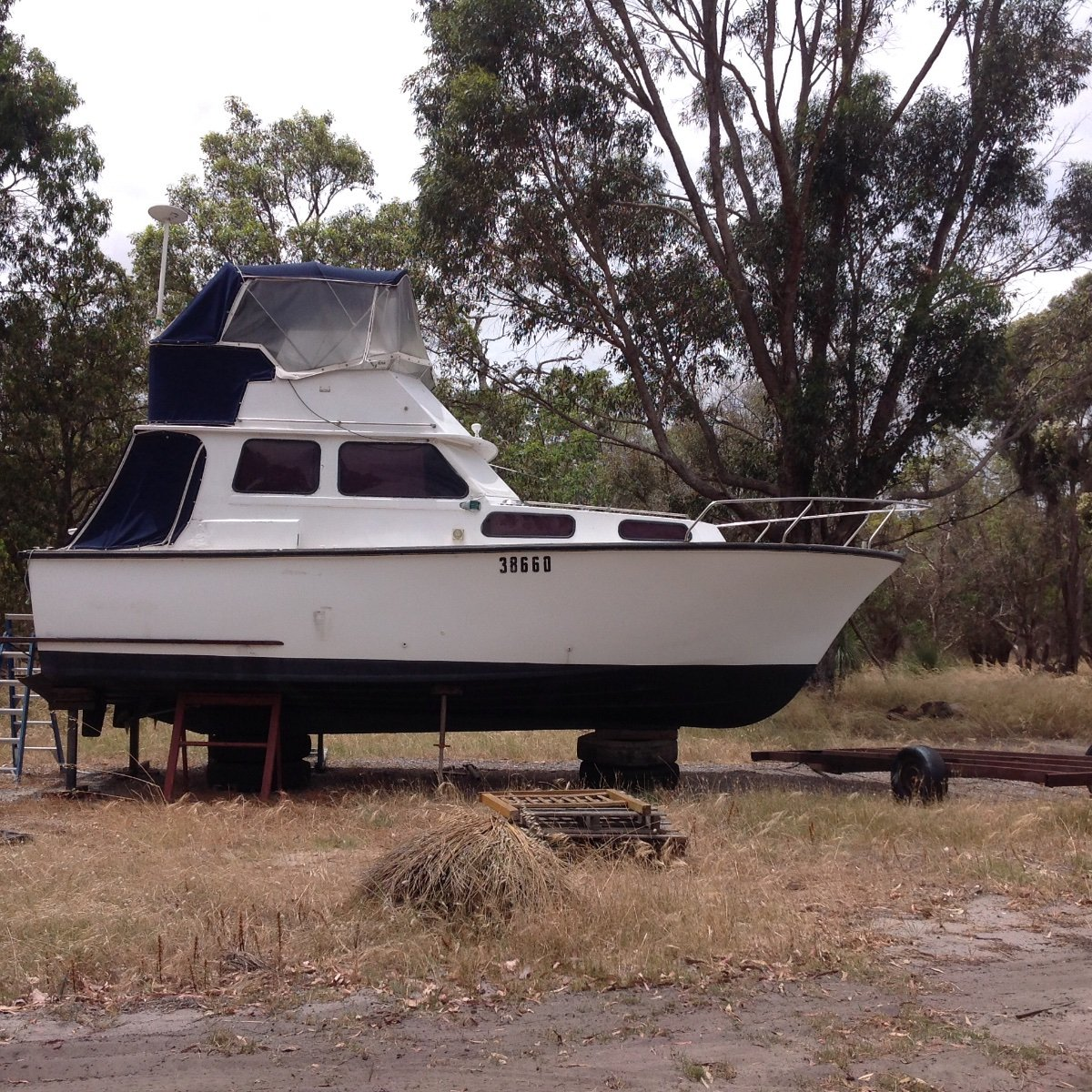 Chris Craft 8.53m Flybridge fiberglass