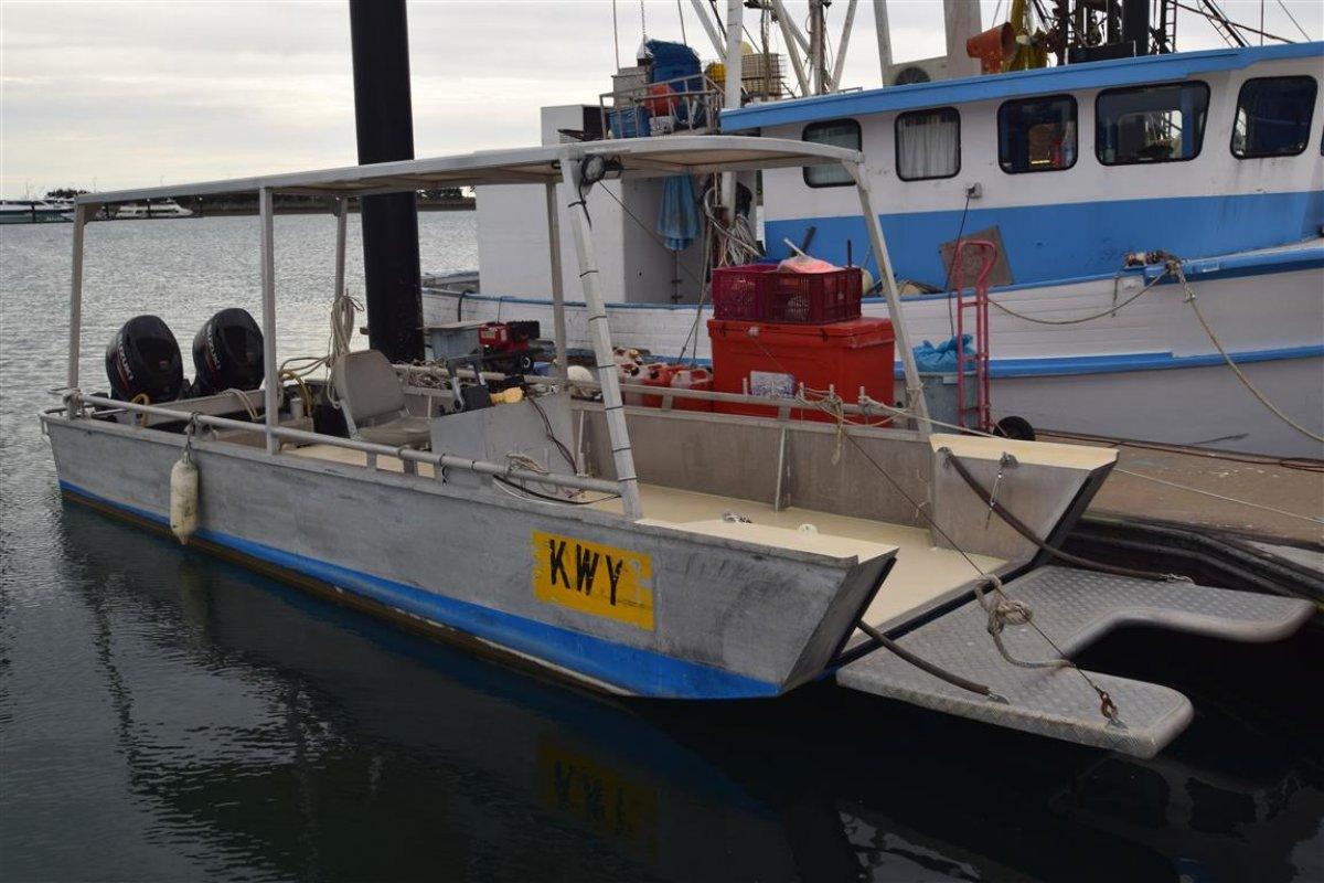 Commercial Fishing LCT Barge