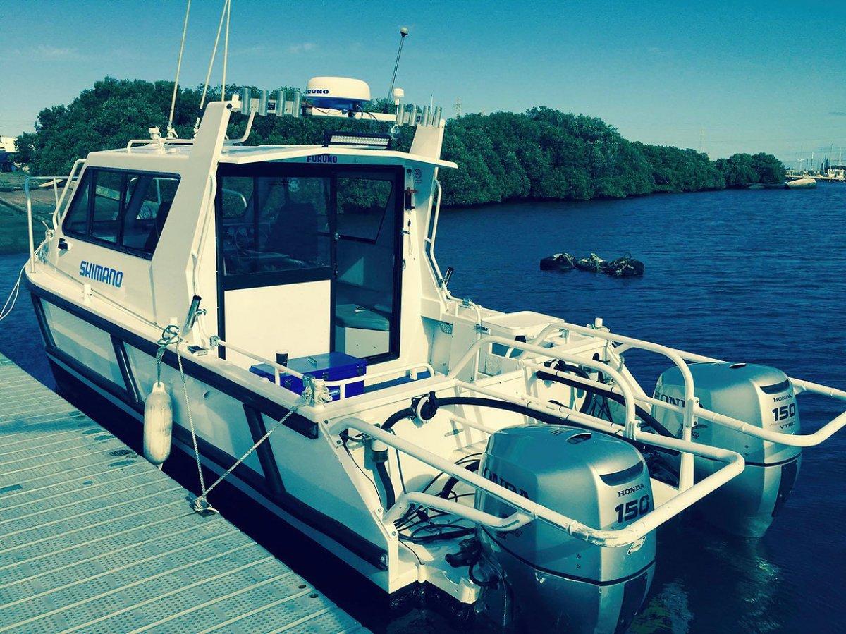 Sailfish 7.2 Hardtop enclosed cabin