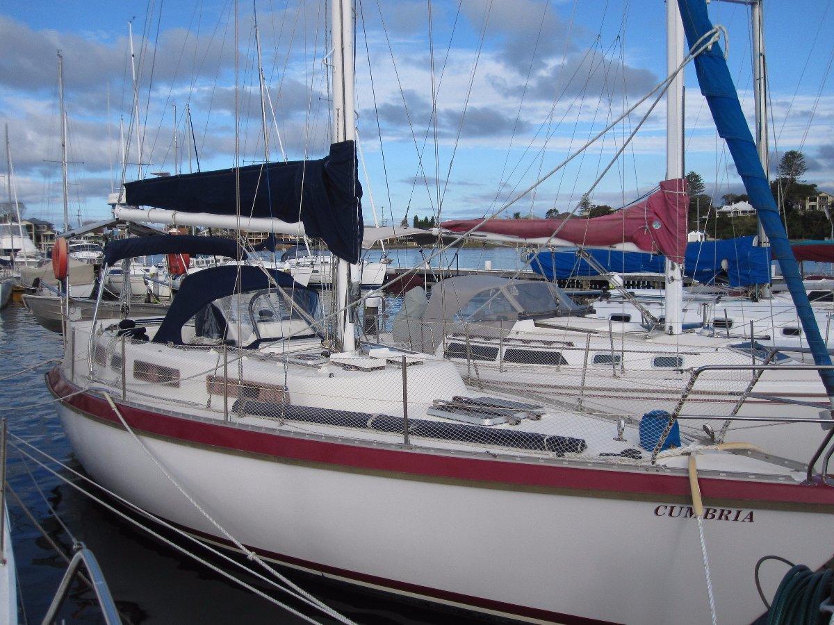 Jarkan 10.5 Centre cockpit blue water cruiser/racer:Cumbria