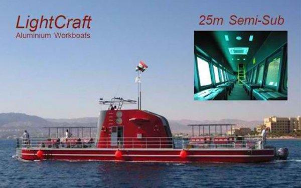 New 25m Semi-Submarine
