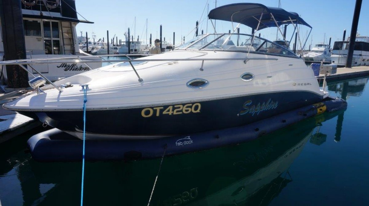 Regal 2665 + Fab Dock