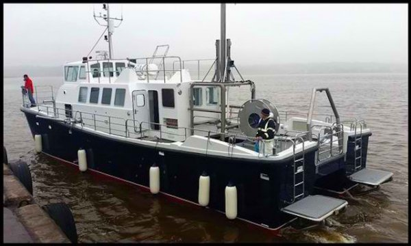 New Safehaven Wildcat 60,18.5m Research / Hydrographic Survey C