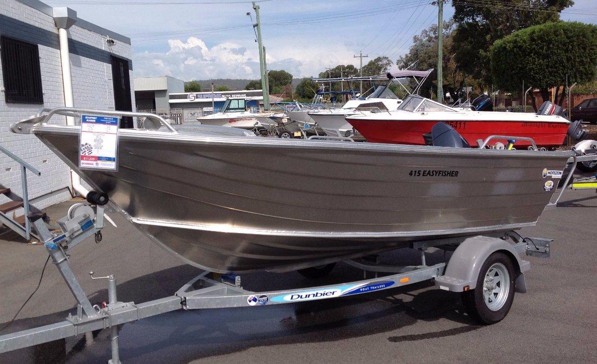 Horizon Aluminium Boats 415 Easy Fisher heavy duty dinghy package