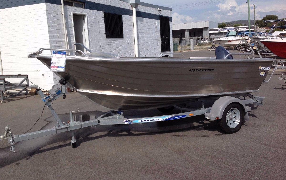 Horizon Aluminium Boats 435 Easy Fisher Pro
