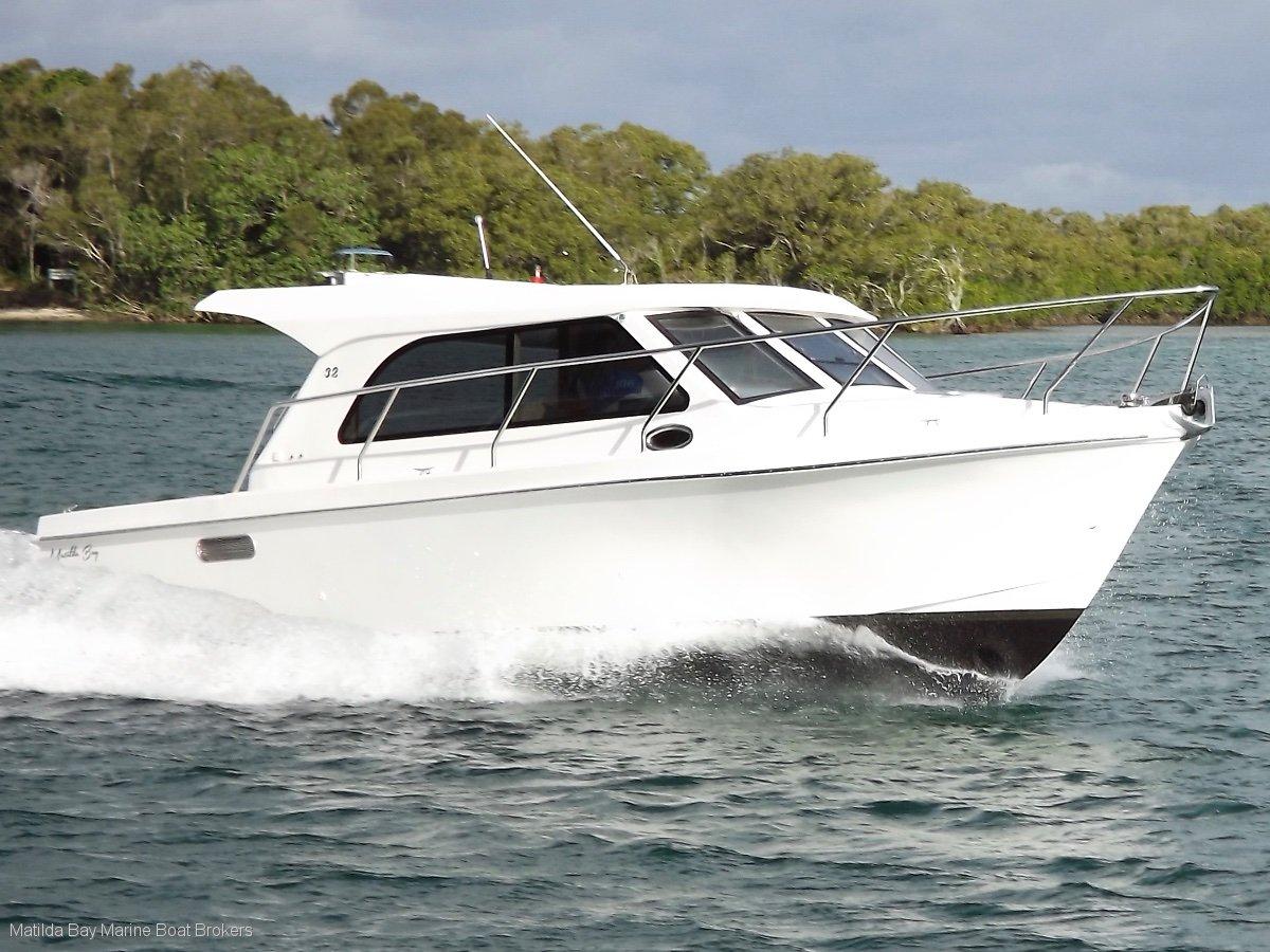 New matilda bay 32 sedan flybridge charter fishing for New fishing boats for sale