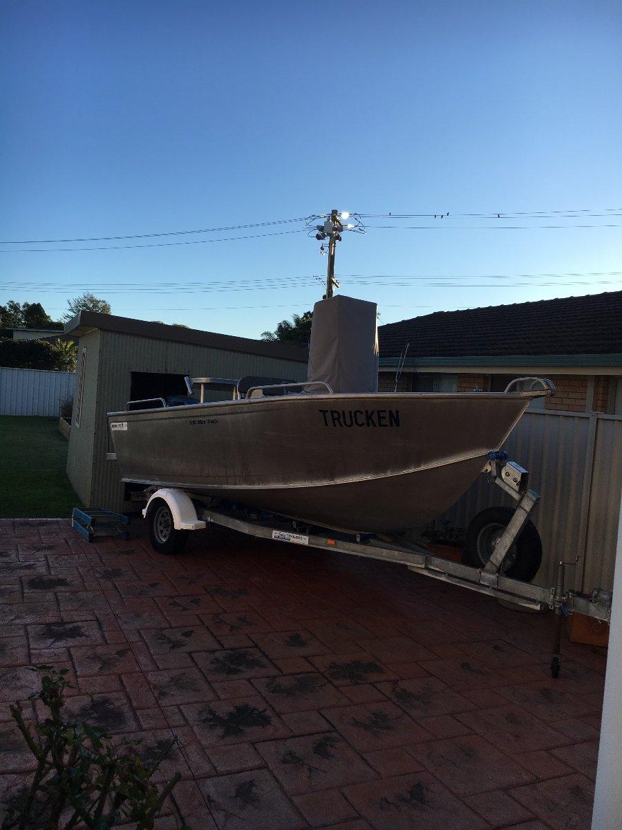 Makocraft Max Truck 530 Plate boat