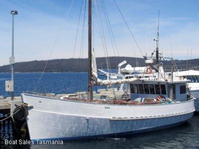 Aft wheelhouse timber fishing vessel