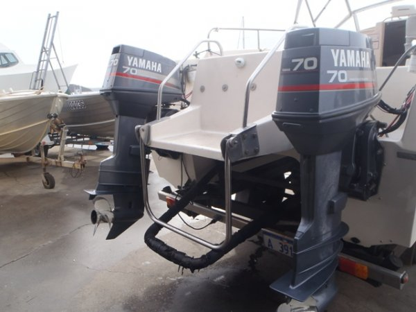 "2 X 1997 model 70hp (2STROKE, 25""X/L) YAMAHA OUTBOARDS"