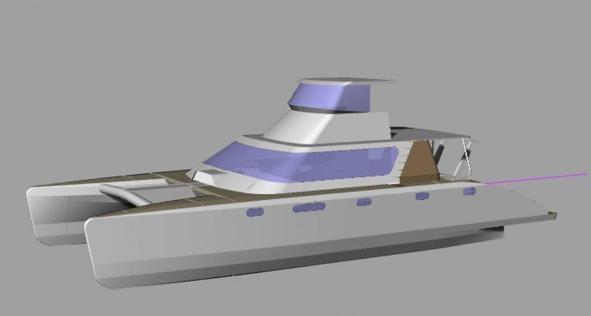 Custom Craft Catamaran Plans