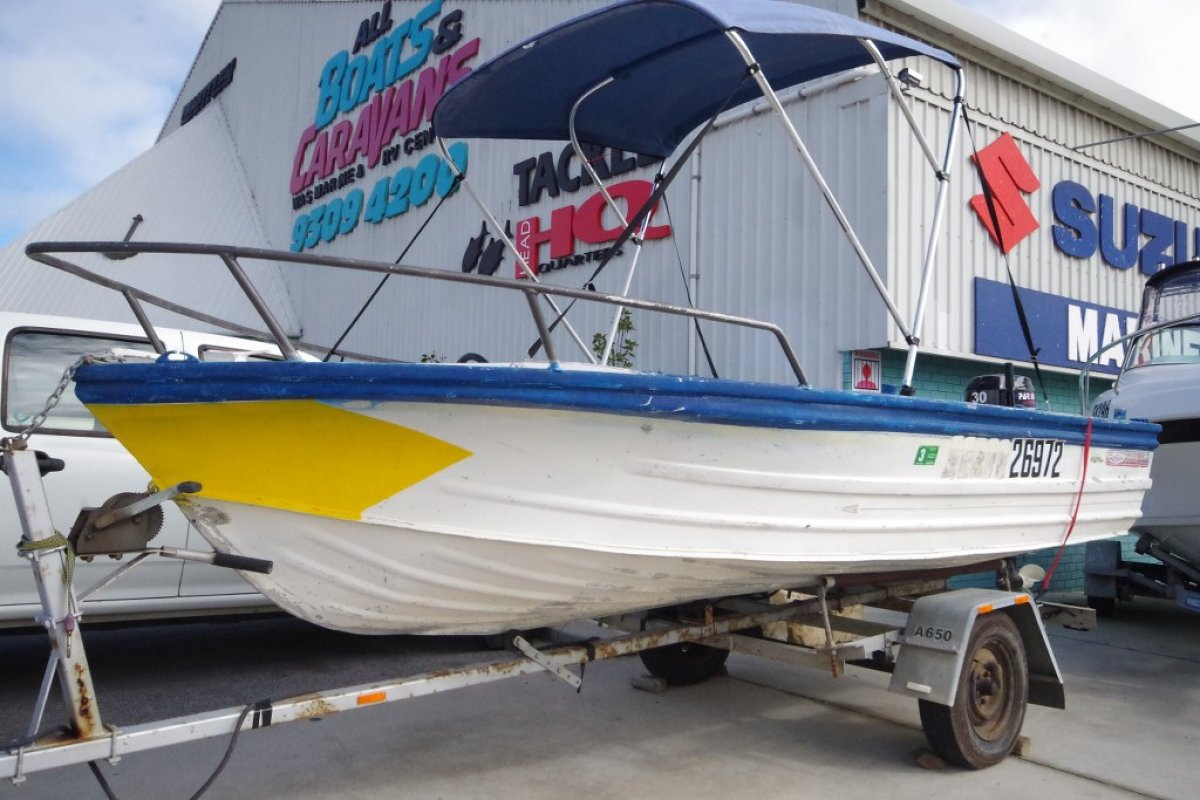 Quintrex 430 Fishabout MK II