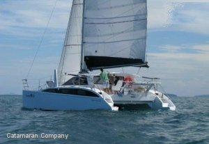 Rogers Evolution 10.5 performance sailing catamaran