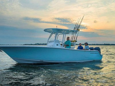 New Sportsman Open 252 Centre Console