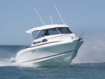 New Caribbean 2400 on Trailer And 300hp Suzuki 4 Stroke Outboard