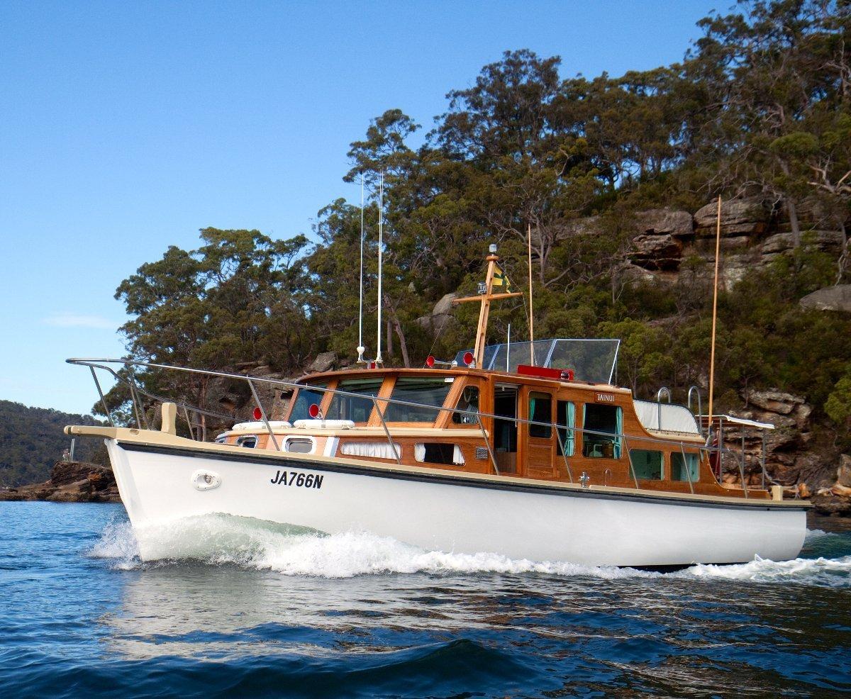 Halvorsen 40 Flybridge Custom Timber Cruiser, Suit Halvorsen buyer