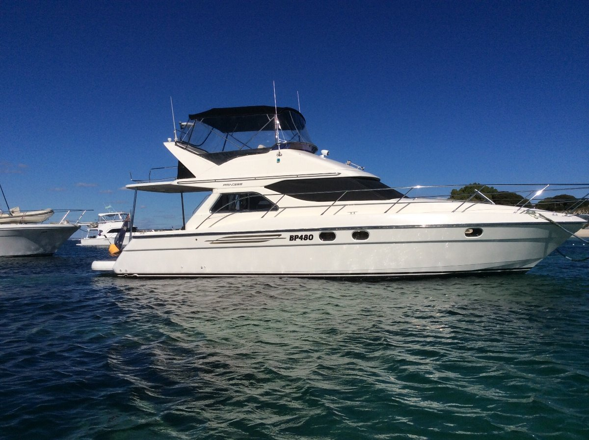 Princess 360 twin diesel flybridge cruiser(suit Caribbean )