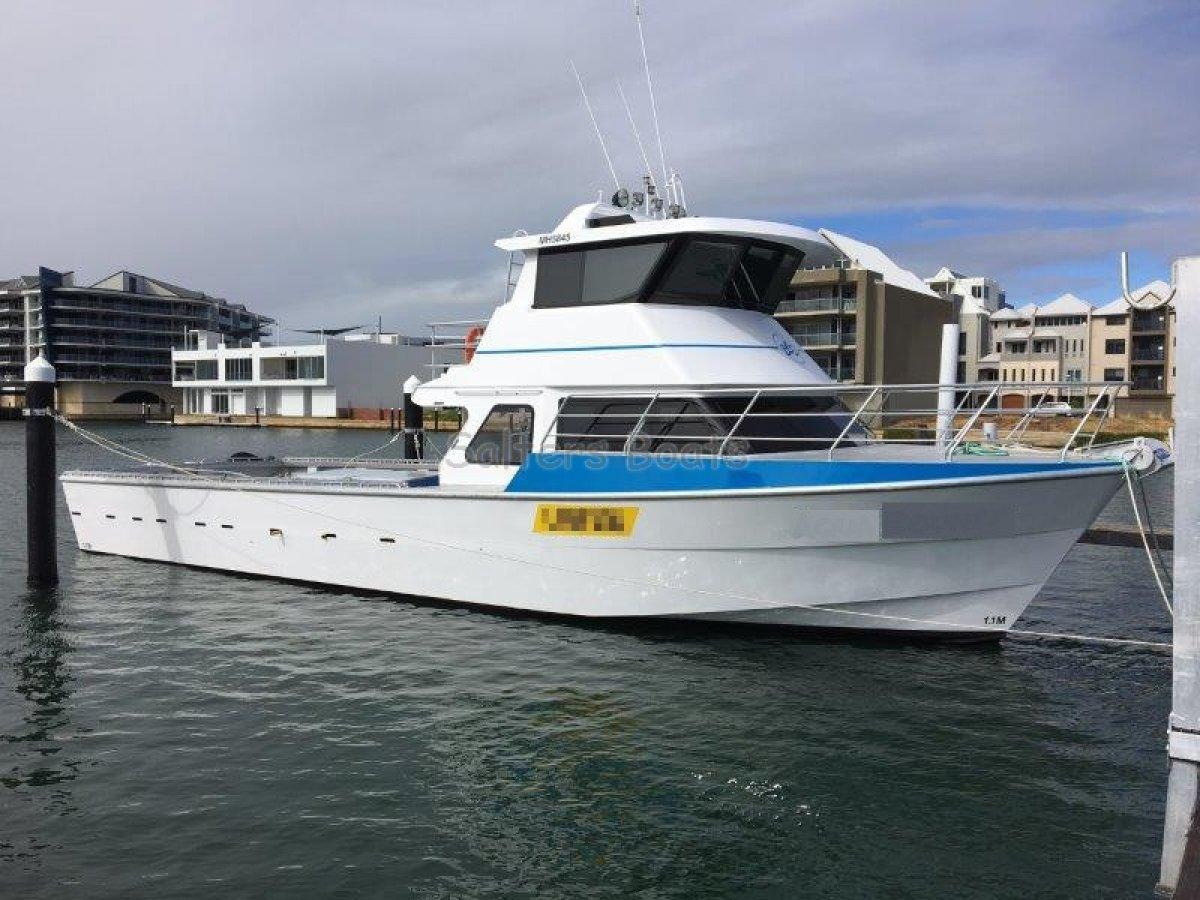 Legend Boats 58' Aluminium Cray