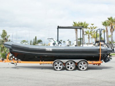 Pacific 24 Rib Diesel (Built by Halmatic)