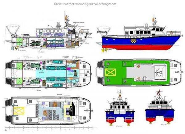 New Wildcat 60 S. A. R. - Crew Transfer / Patrol - S. A. R