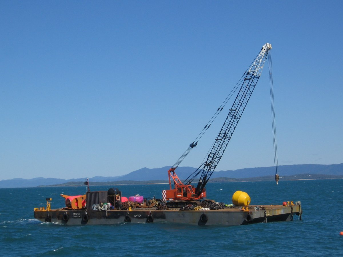 120ft (36m) 600T Flat Top Deck Cargo Barge