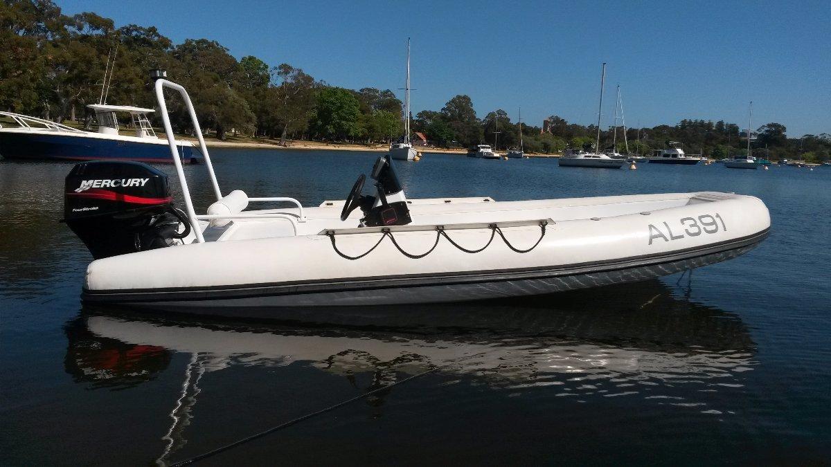 Aquapro 1501 RIB Aluminium Hull with Hypalon Tubes