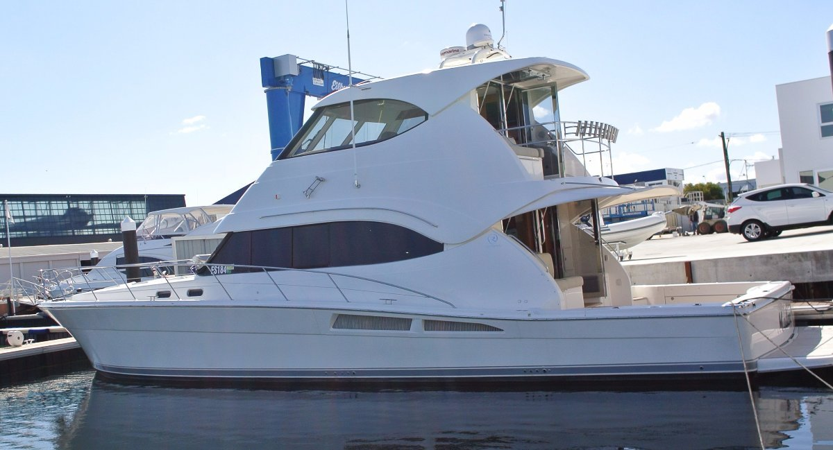 Riviera 61 Enclosed Flybridge SOLD ! Do YOU have a 56 or 58 EFB then CALL NOW