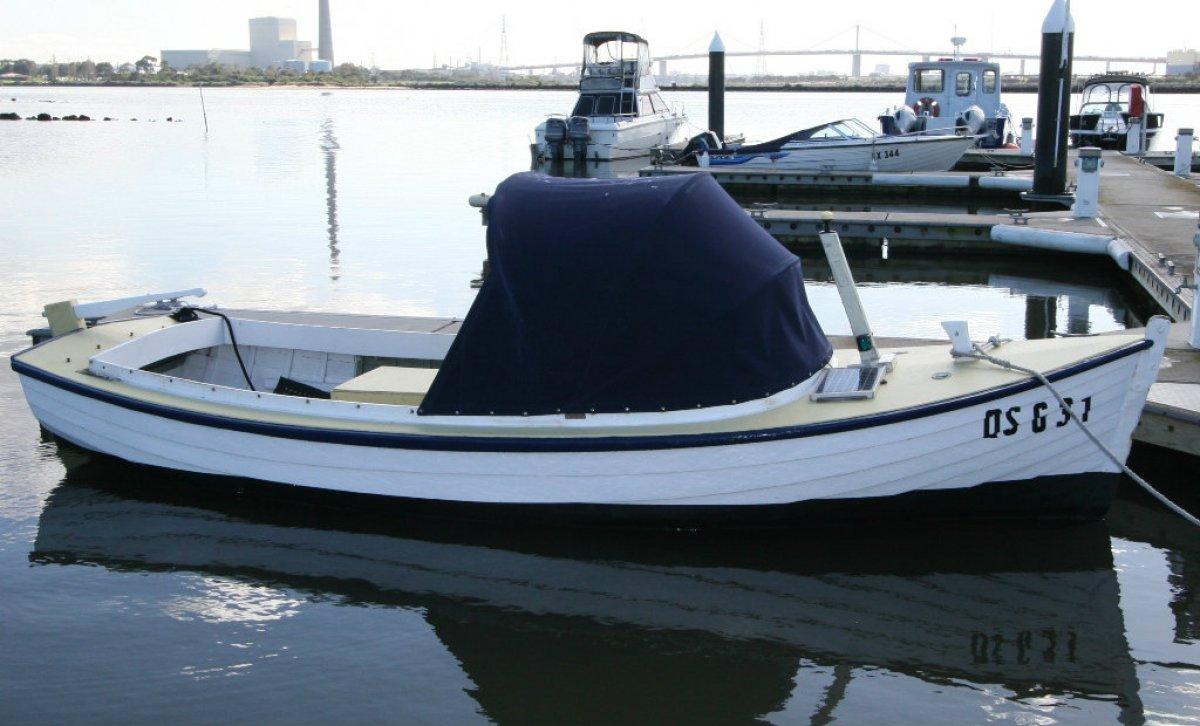 Couta Boat Harry Clark classic timber putt putt