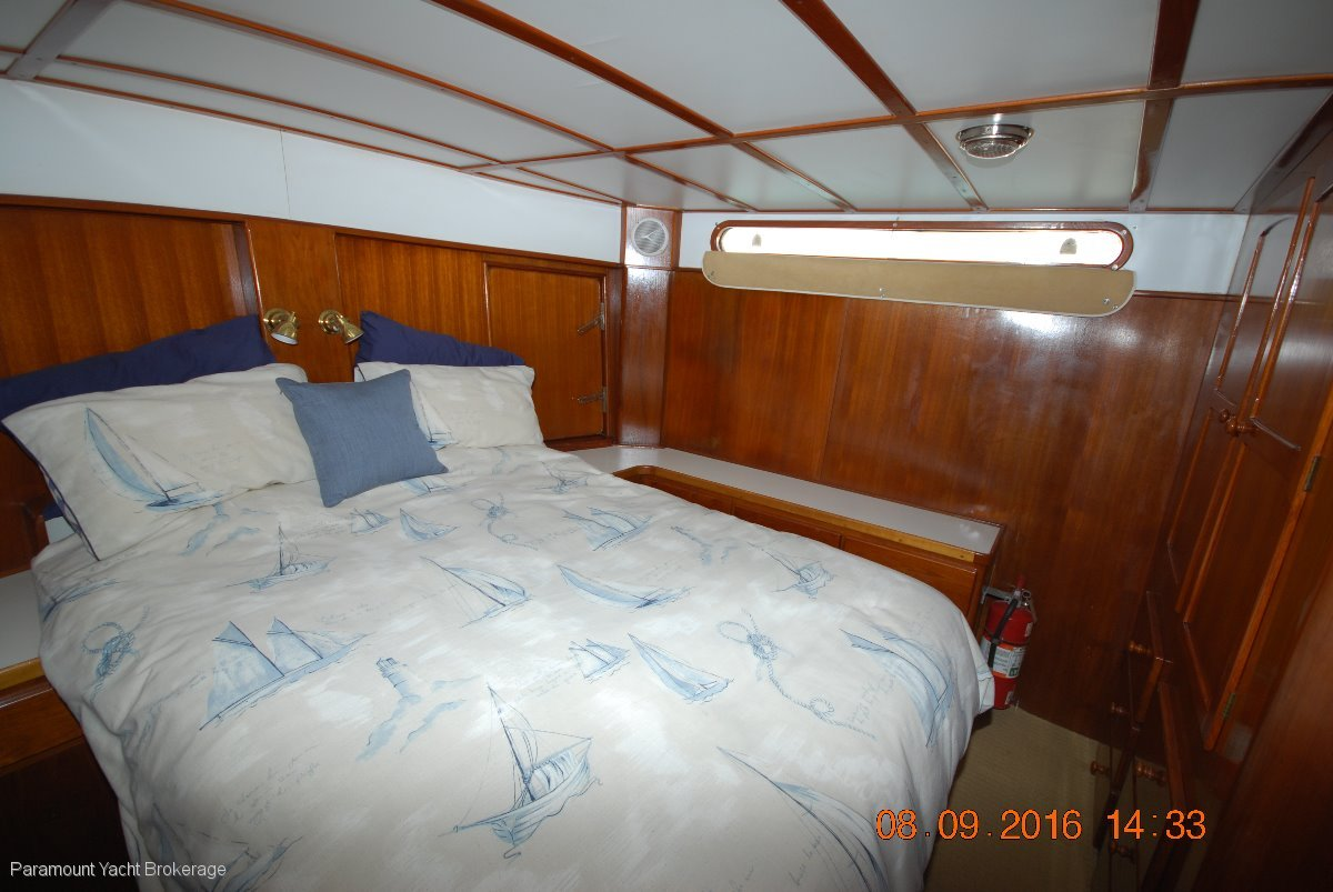 Boden Steel Cruiser Pilothouse 52' Constructed to NSW survey standards