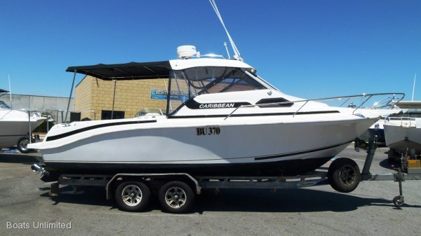 Caribbean 24 FAMILY FISHING DELUXE CRUISER ISLAND HOPPER:PROVEN SALES HISTORY, RESULTS DRIVEN... CELEBRATING 21 YRS IN THE WA MARINE BOATING SALES.