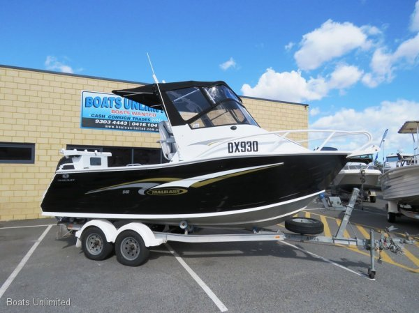 Trailcraft 540 Trailblazer SPORTS CUDDY GREAT FISHING FAMILY FIRST BOAT:BOATS UNLIMITED Perth Largest Range of Quality Used Boats, Friendly Service, Great Advice!