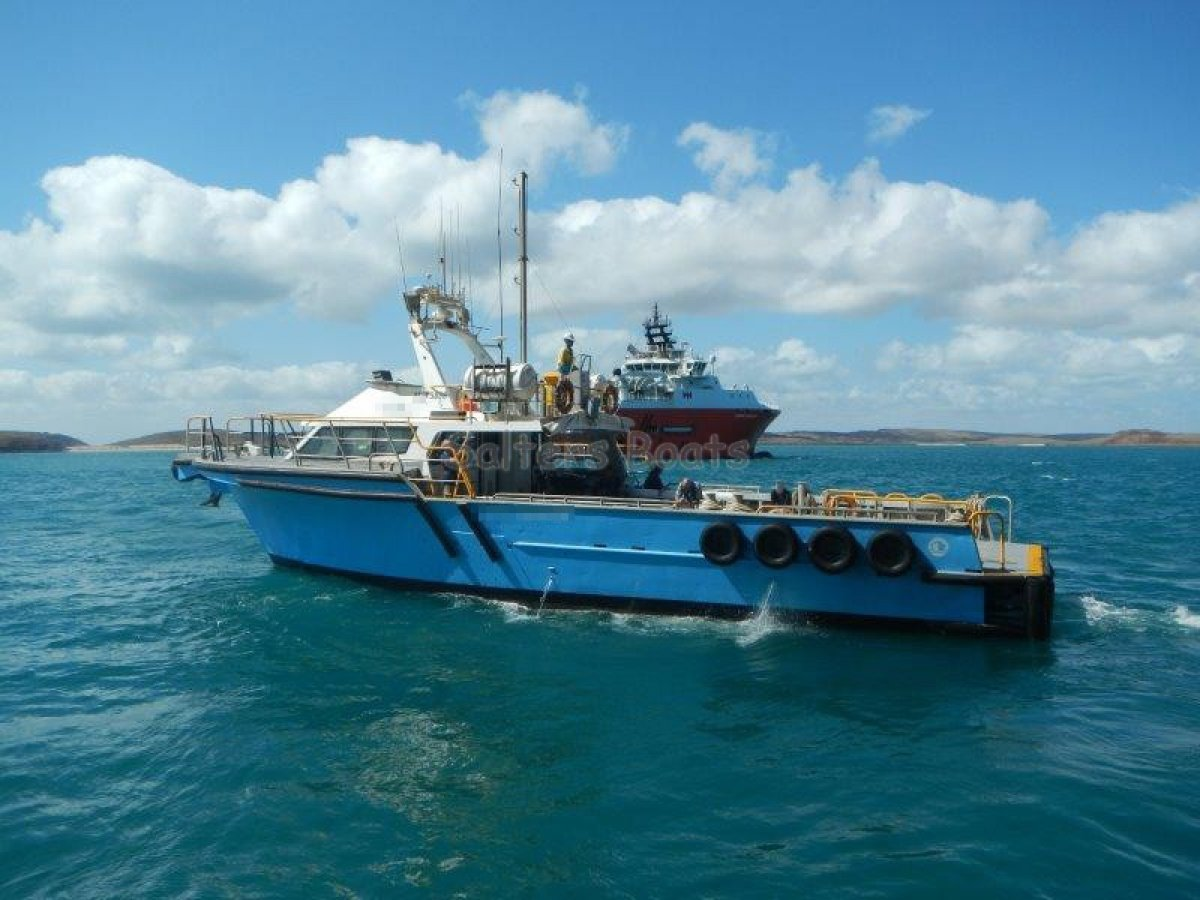 """Custom 18.3m """"Fine Entry Marine"""" Charter/Offshore"""