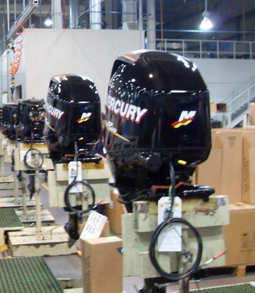 Mercury 20HP 25HP 30HP 40HP 50HP 60HP 75HP Outboard Motor Boat Engine