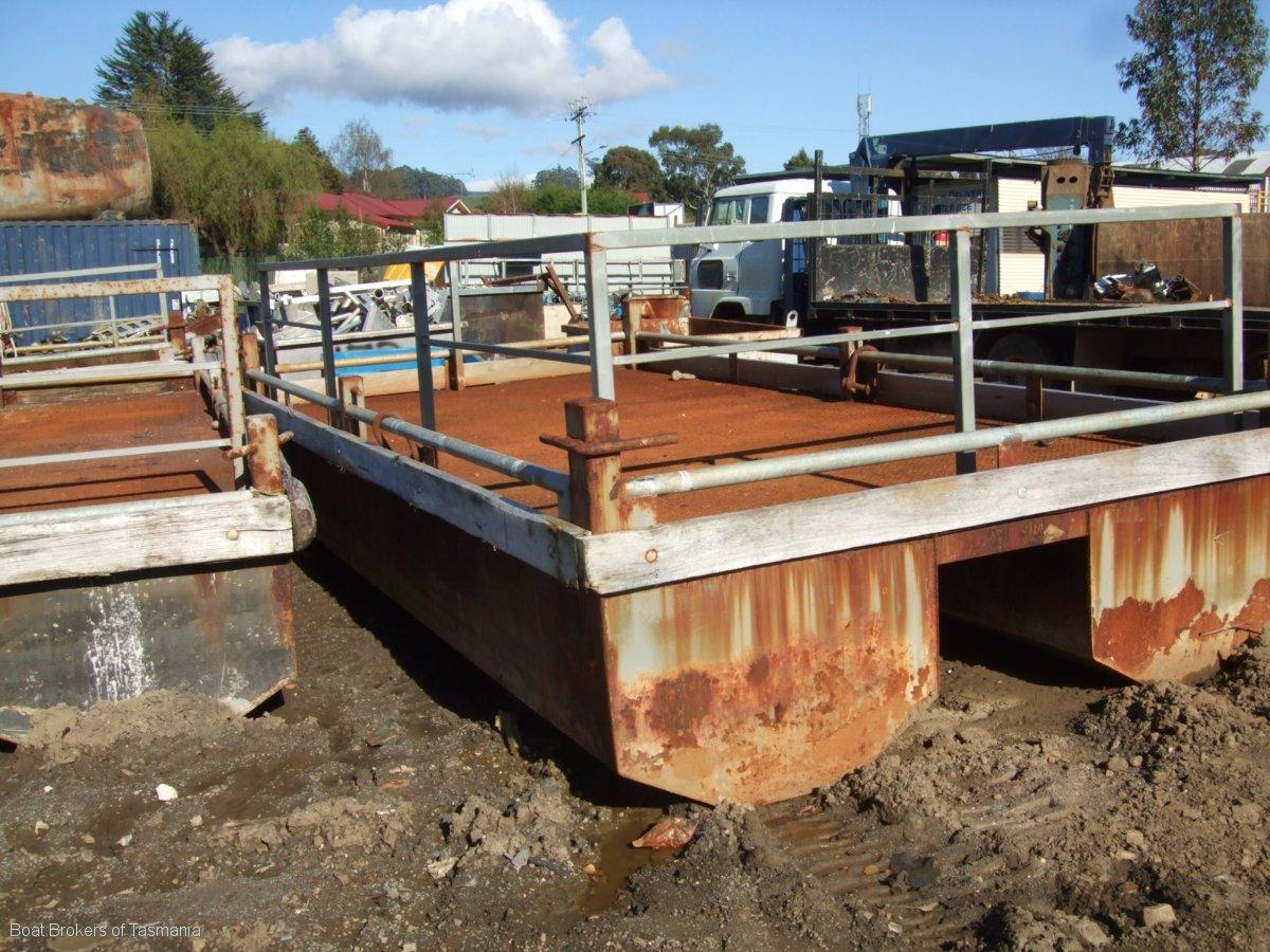 Drysdale Steel Barge