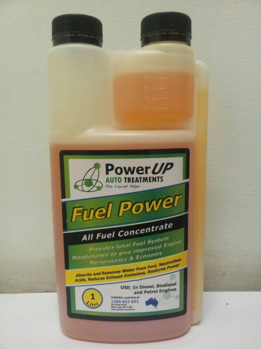 Fuel Power additive, keeps fuel water free