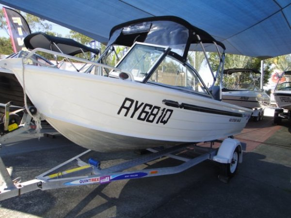 Quintrex 430 Estuary Angler