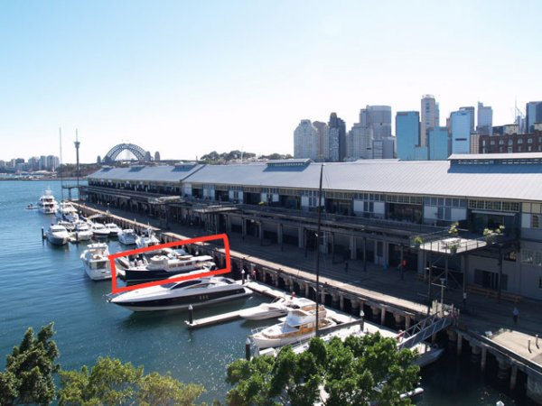 Exclusive and Rare Private Sydney Harbour 22m Marina Berth