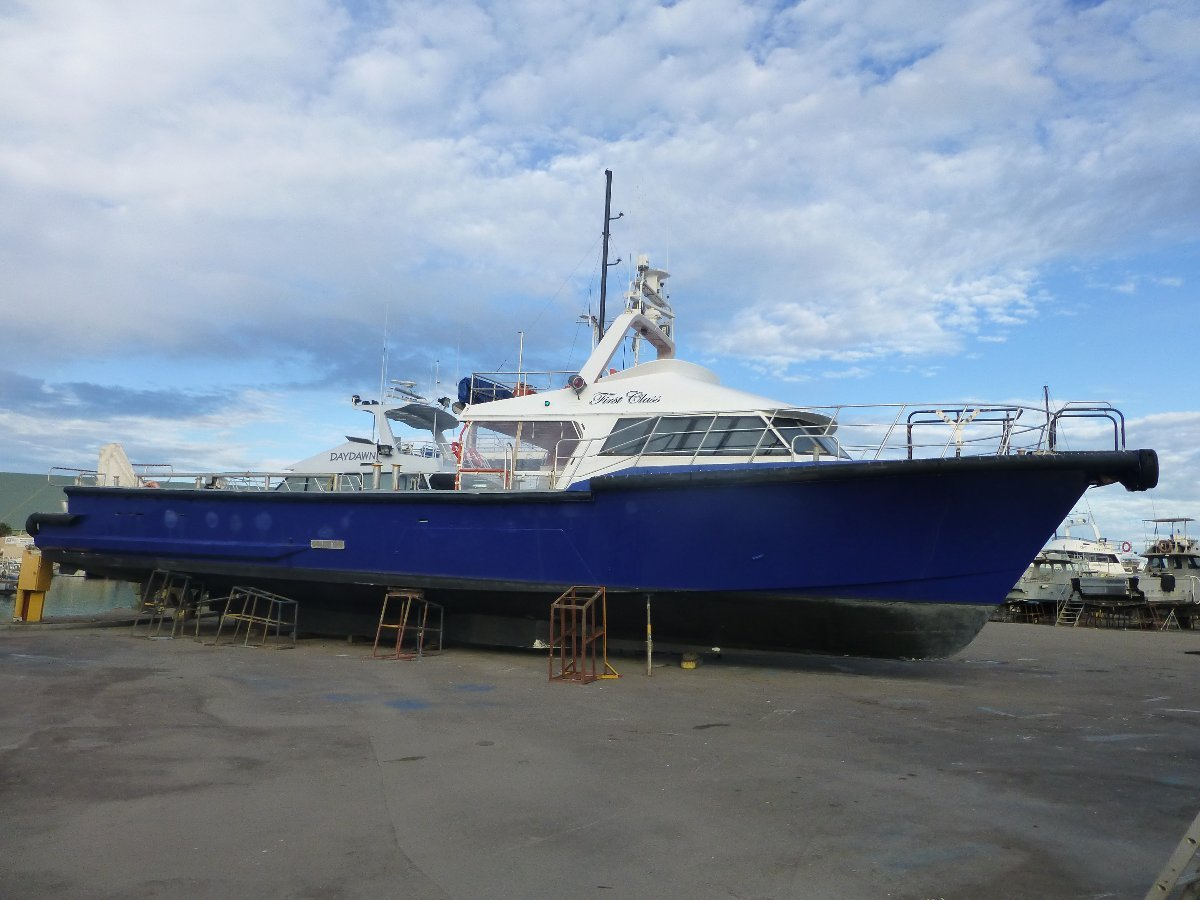 GBB 77ft built charter vessel launched in 1995
