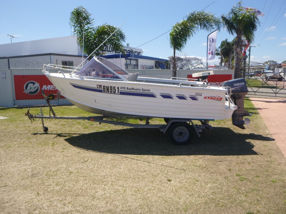 Stacer 475 Bay Master Runabout